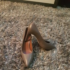 Genuine Leather Grey Cole Haan Pumps